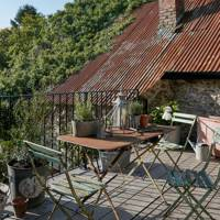 Terrace Decking | Georgian Country House | Real Homes | Interior Design Inspiration
