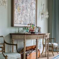 Drawing Room Sideboard - Traditional Hampshire Country House