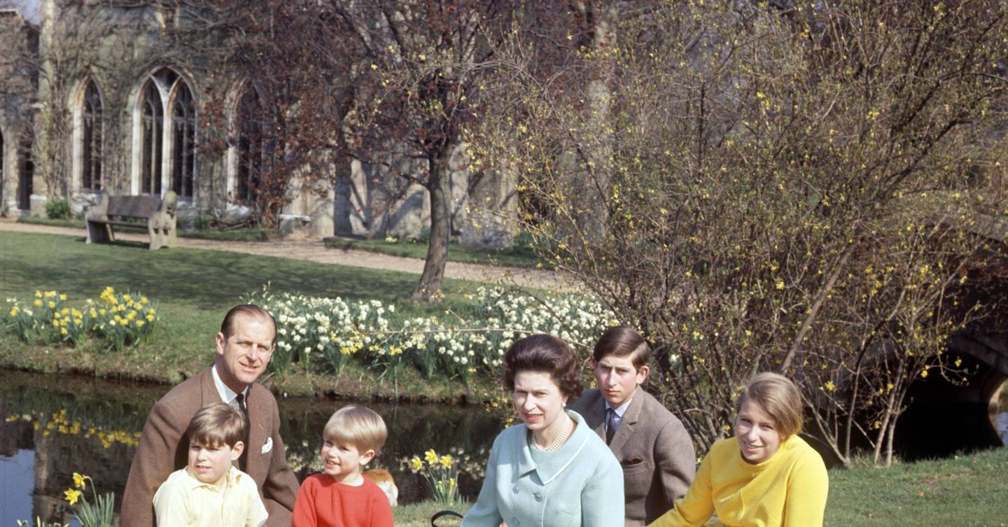 A life in pictures: Prince Philip at home
