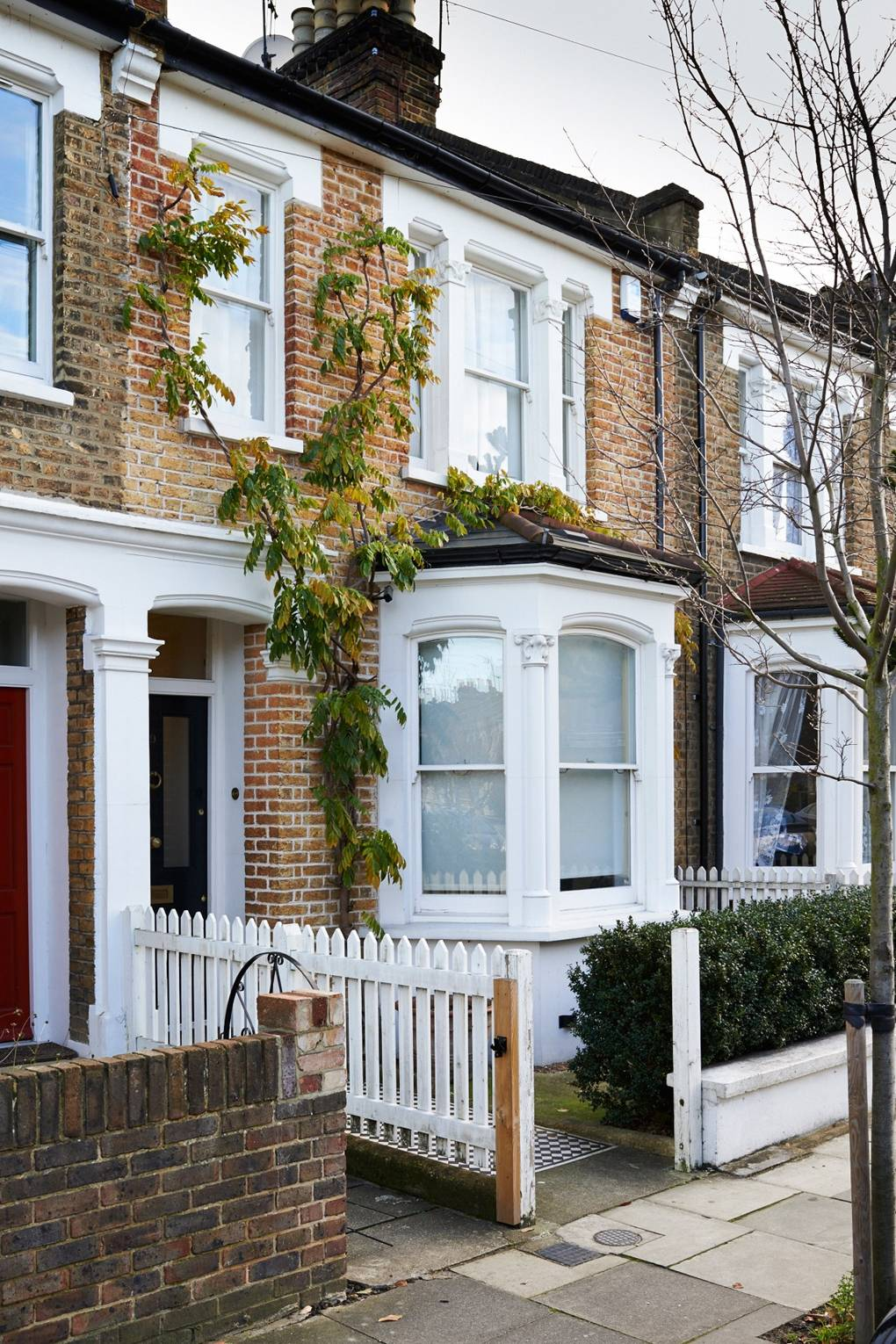 Terraced House Exterior Renovation - Before & After Design