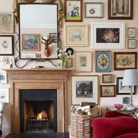 Rita Konig's London flat - The Living Room