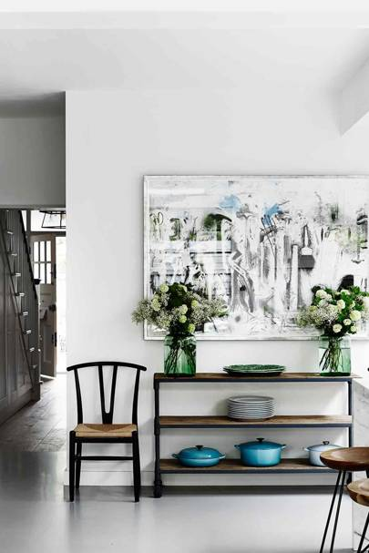 White Room with Le Creuset Cookware