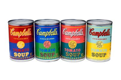 Limited Edition Andy Warhol Campbell's Soup