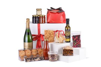 The Ottolenghi Christmas Hamper + Champagne, £150